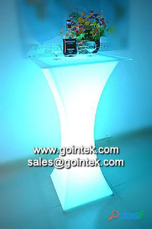 barra interactiva led mesa, tabla led para discoteca