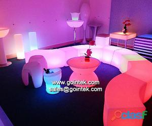 el material del PE 83 * 83 * 112cm Partido luminoso alquiler de mobiliario