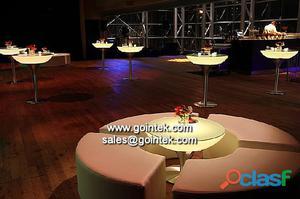 led sillas y mesas para bares