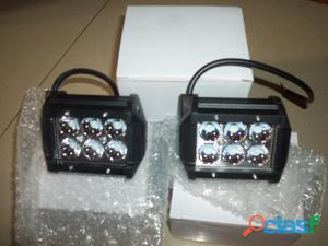 Luces led color negro