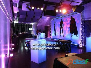 Material de pe hermosa 90 * 75 * 112cm muebles luminoso bar comercial