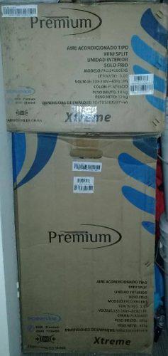 Aire acondicionado de 24 mil btu nuevo en su caja tipo split