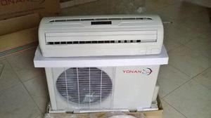 Aire acondicionado split 12mil btu marca yonan nuevo con acc