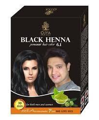 Pigmento henna negro semipermanente ojya producto indu!!