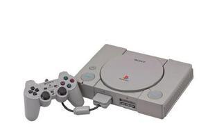 Playstation 1 y consola con dos juegos ea sport