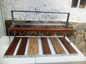 Estructuras rig rack, aluminio y madera, minero4- 8- 16 gpu