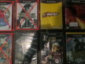 Juegos de gamecube disponibles ring of fir y medalla honor