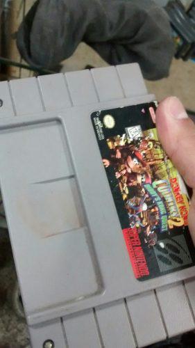 Don King Kong Country 2 Súper Nintendo Oferta
