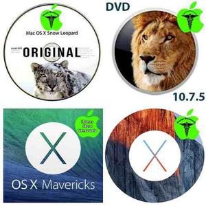 Sistemas operativos os x apple mac