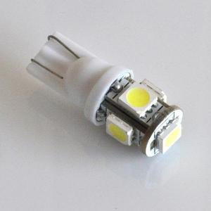Bombillo muelita led t10 blanco frio 5050 alto brillo 12v