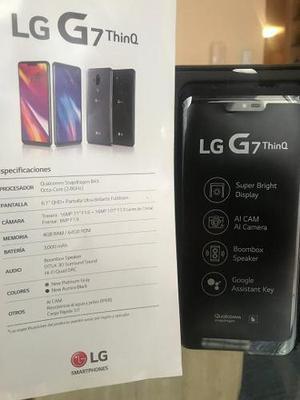 Lg g7 liberado completamente nuevo