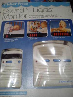 Monitor para bebe fisher price usado con sonidos y luces
