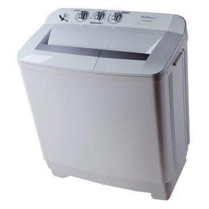 Lavadora doble tina semiautomática 11 kilos blanca premium
