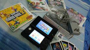 Nintendo 3ds con juegos originales o r4 full juegos
