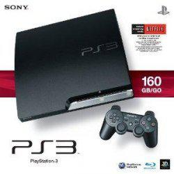 Playstation 3 slim 160 gb + uncharted 3