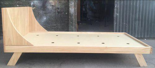 Cama nórdica (madera pino) carpintería linares