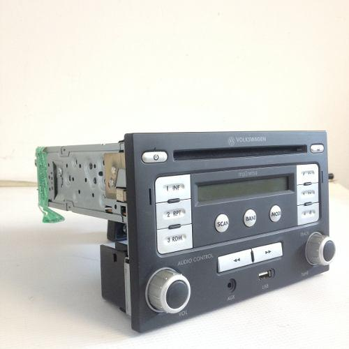 Radio reproductor cd mp3 volkswagen bora jetta golf pasat jg