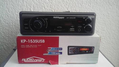 Reproductor de carro mp3 usb sdcard radio (40$)