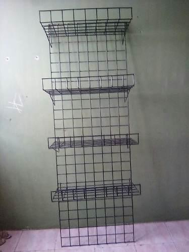 Aerocloset tipo estante de metal 4 niveles color negro 4fec411fd46b