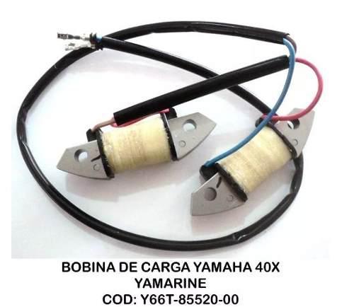 Bobina de carga para motor yamaha 40x