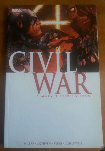 Civil war de marvel.