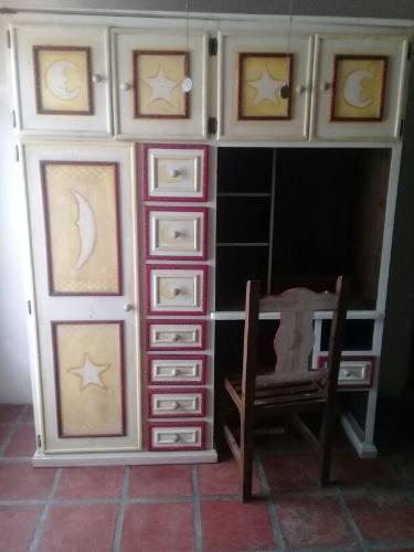 Closet de madera pura