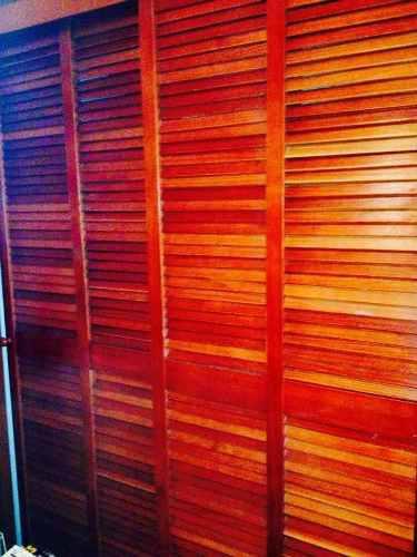 Closet puertas madera romanilla gavetero