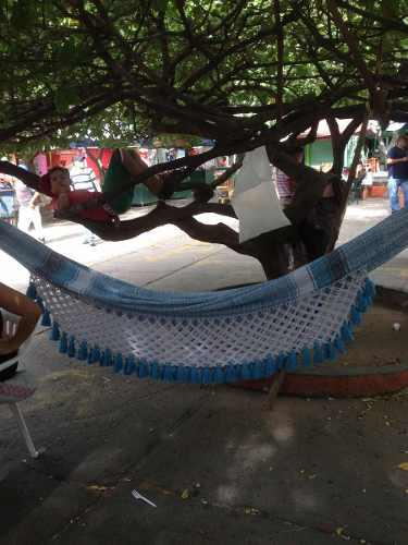 Hamaca king size artesanales de algodón 100%