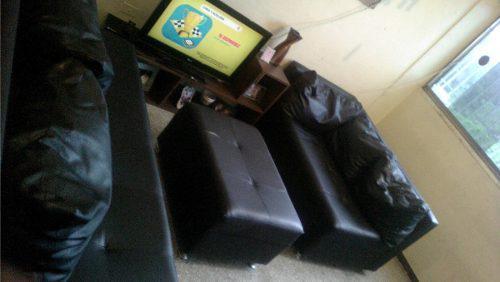 Juego muebles modulares-sala