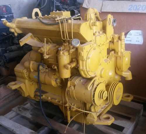 Motor caterpillar 3304 id marino listo para montar