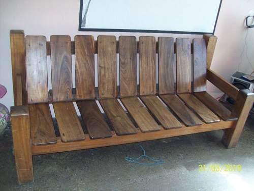 Muebles de madera saman. negociables.