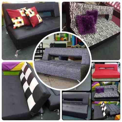 Sofa cama/patas cromadas/ variedad/fabrica/tienda/transporte