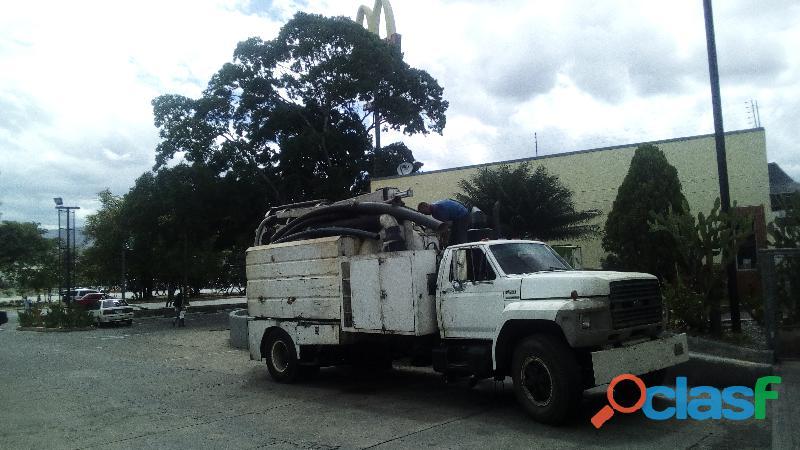 Alquiler de camion vacum maracay 04243498886
