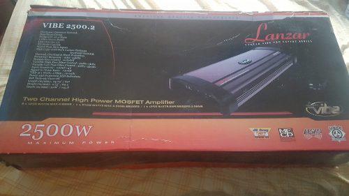 Amplificador lanzar vibe 2500.2 w