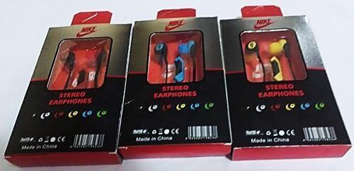 Audifonos manos libres nike hs-51 mayor y detal