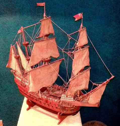 Barco antiguo coleccion modelismo a escala armada holandesa