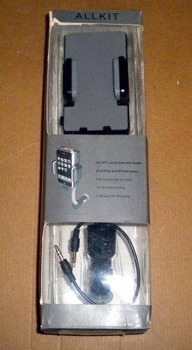 Kit de manos libres para iphone / ipod y mp3