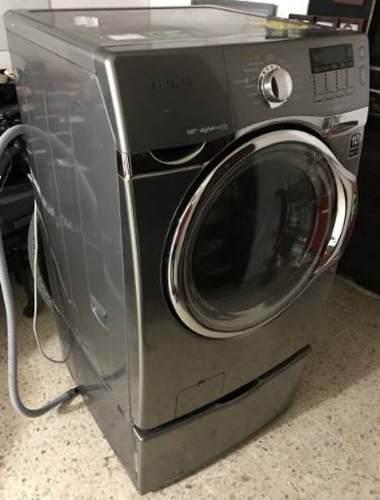 Lavadora secadora samsung 17 kg inverter inox wf431abp nueva
