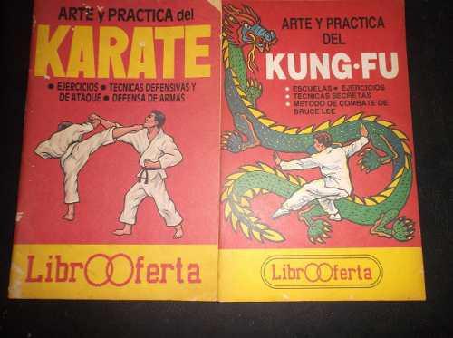 Libros karate y kunfu, metodos de combate de bruce lee, leer
