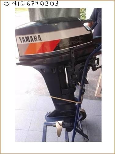 Motor yamaha pata larga de pasadores t 15hp 2 tiempo