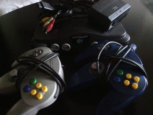 Nintedo 64 / controles / juegos