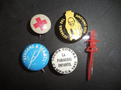 Pin antiguo colección