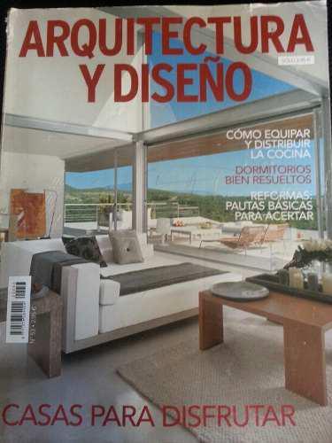 Revista arquitectura y diseño, arte, mobiliario, jardín