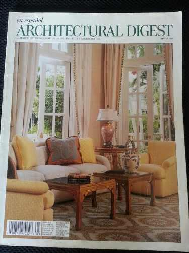 Revista internacional architectural digest, diseño interior