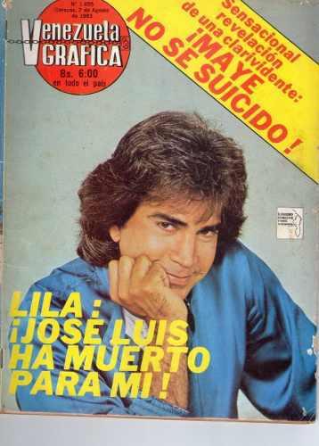 Revista Venezuela Grafica De Colección Jose Luis Rodriguez