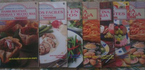 Revistas tesoros de la cocina