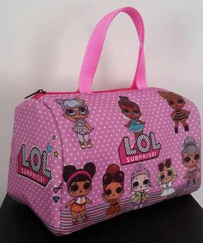 Bolsos para niñas lol, minnie, unicornio personalizados