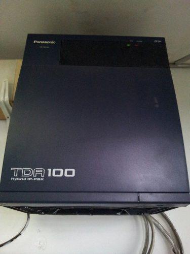 Central telefonica panasonic tda-100 hybrid ip-pbx