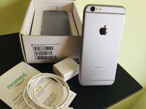 Iphone 6 64gb impecable liberado accesorios garantía (240)
