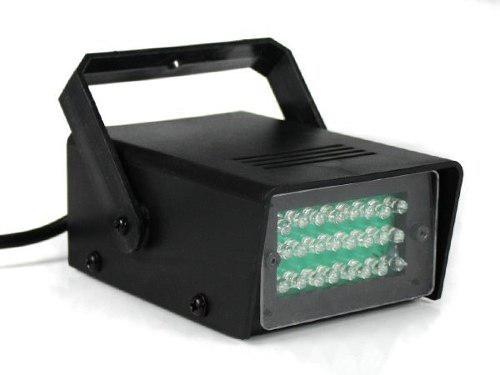 Luces miniteca dj mini estrobo led flash 35w nuevas